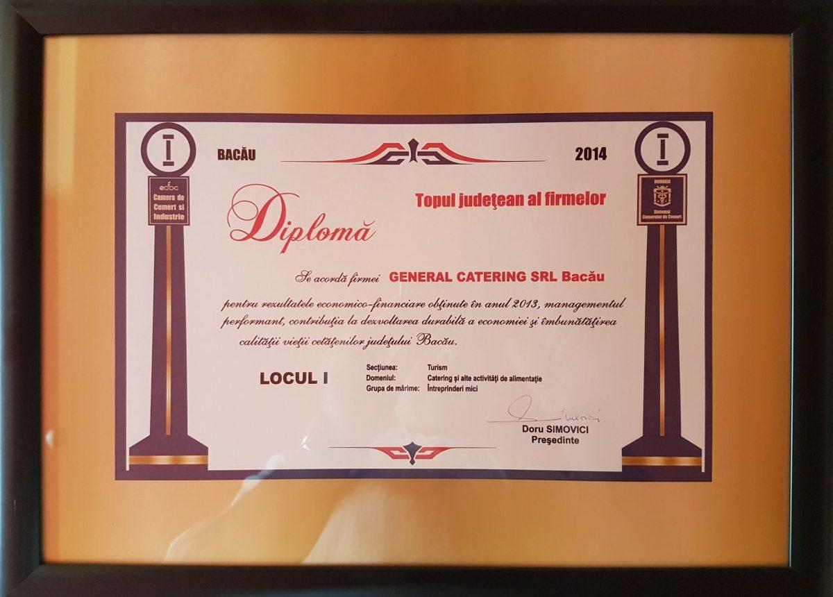 diploma1 General Catering